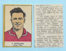 Aston Villa Peter McParland Northern Ireland 1955